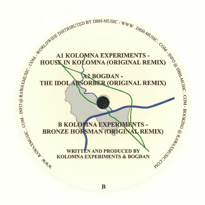KOLOMNA EXPERIMENTS/BOGDAN - House In Kolomna EP
