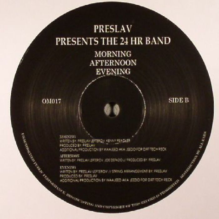 PRESLAV - Preslav Presents The 24 Hr Band