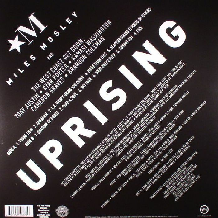 MOSLEY, Miles - Uprising