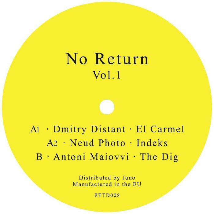 DMITRY DISTANT/NEUD PHOTO/ANTONI MAIOVVI - No Return Vol 1