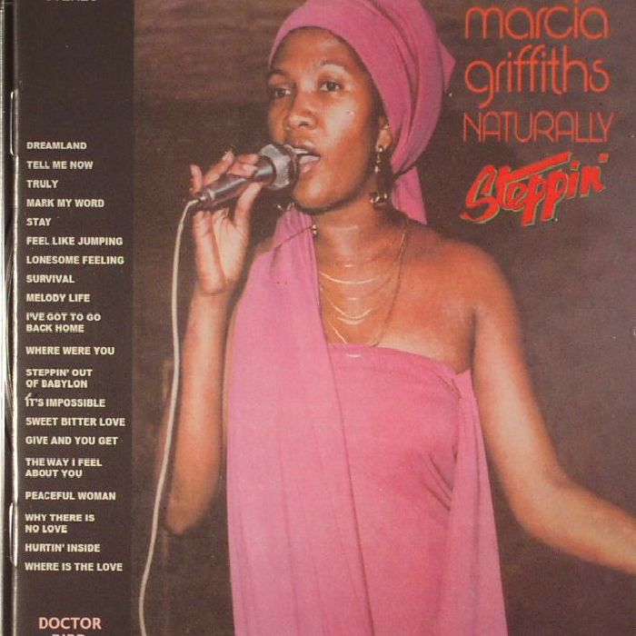 GRIFFITHS, Marcia - Naturally/Steppin'
