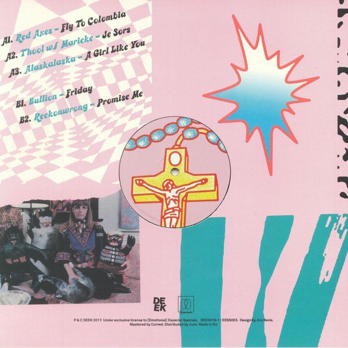 RED AXES/THOOL W/MARIEKE/ALASKALASKA/BULLION/RECKONWRONG - Covered In Gloria: Sampler 1