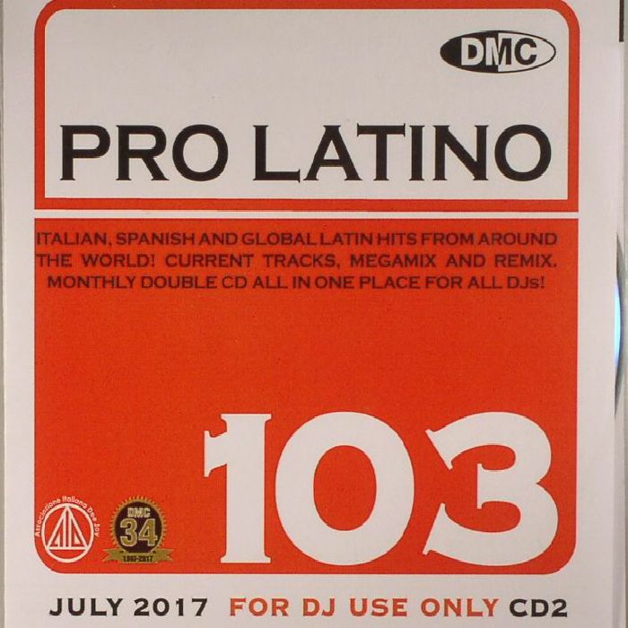 VARIOUS - DMC Pro Latino 103  (Strictly DJ Only)