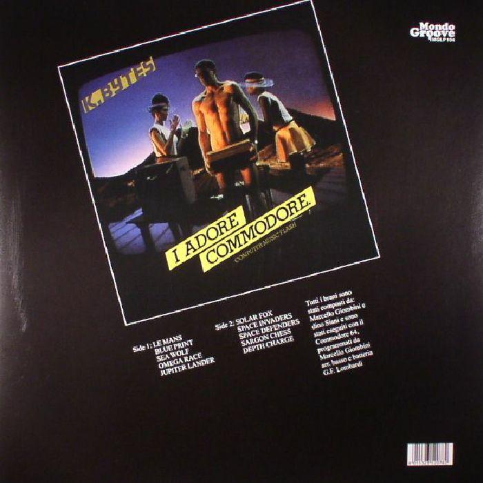 K BYTES - I Adore Commodore: Computer Music Flash
