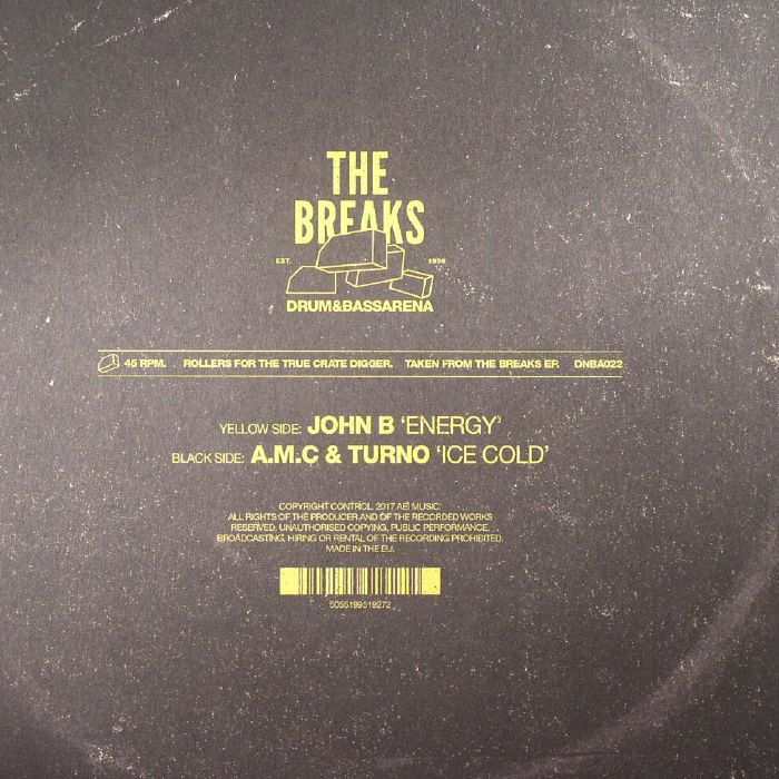 JOHN B/AMC/TURNO - Drum&BassArena: The Breaks