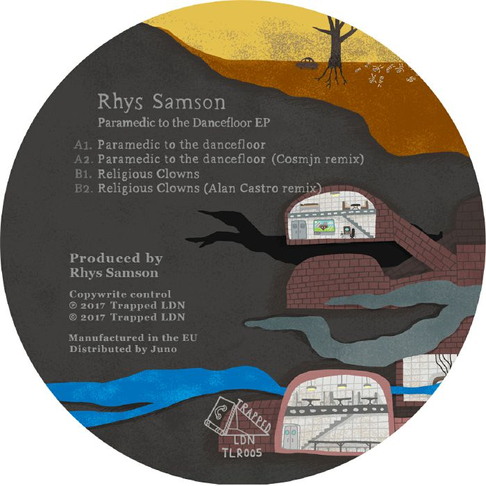SAMSON, Rhys - Paramedic To The Dancefloor EP