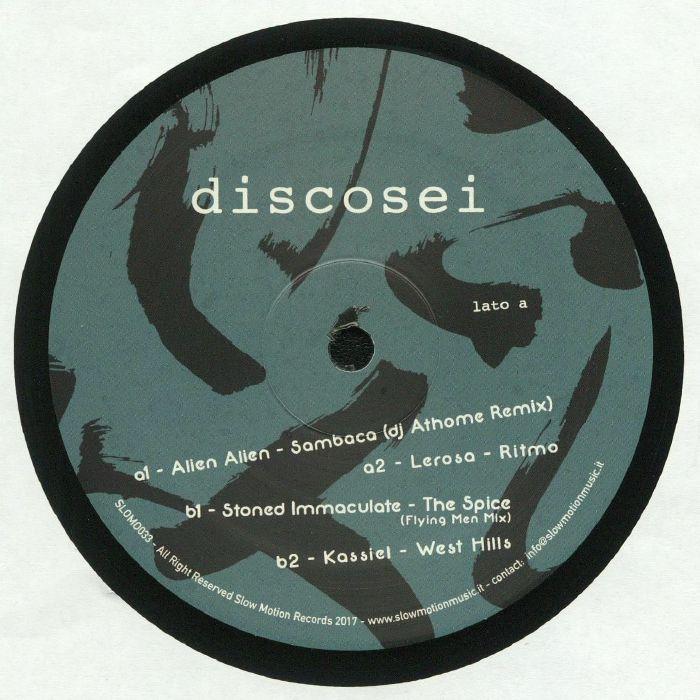ALIEN ALIEN/LEROSA/STONED IMMACULATE/KASSIEL - Italian Dance Wave: Disco Sei