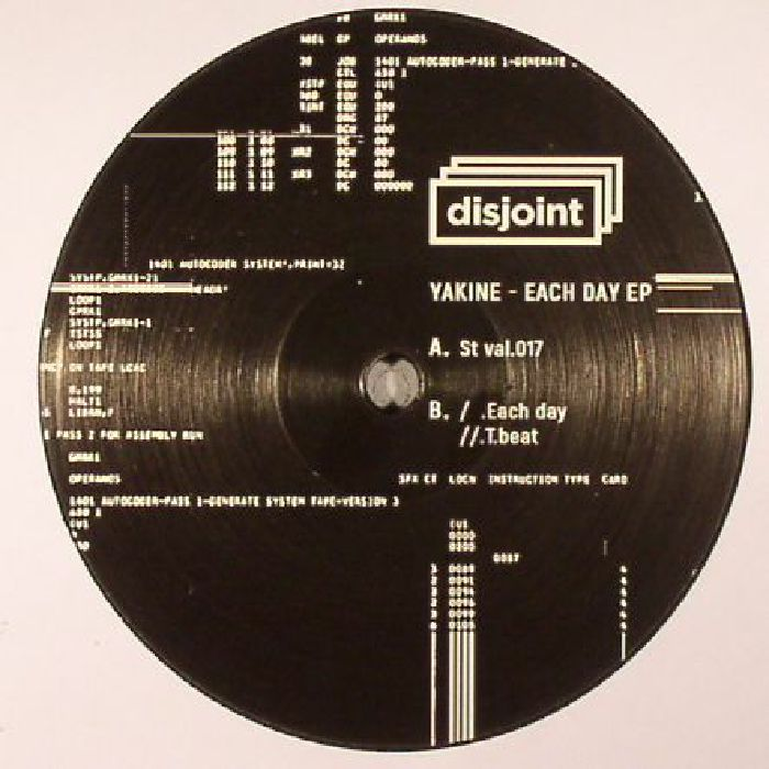 YAKINE - Each Day EP