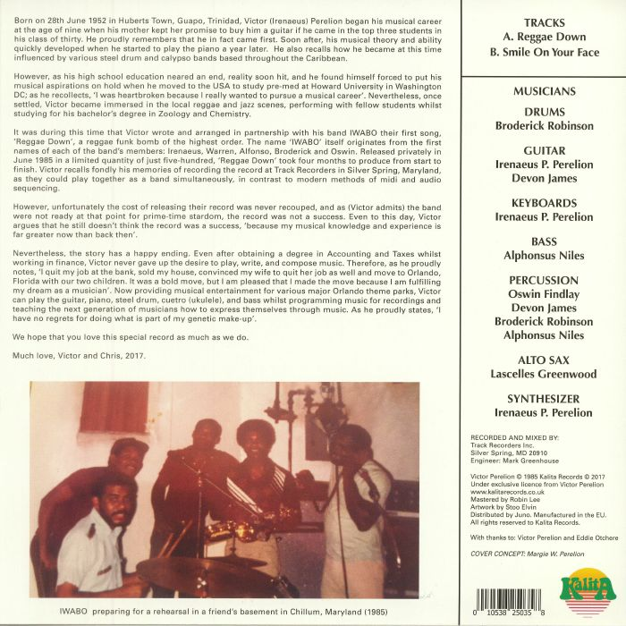 IWABO - Reggae Down