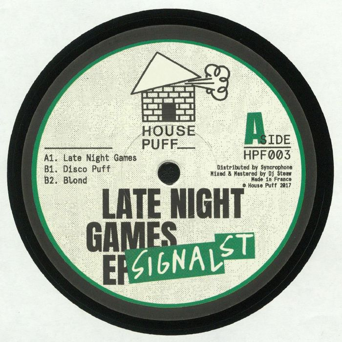 SIGNAL ST - Late Night Games EP
