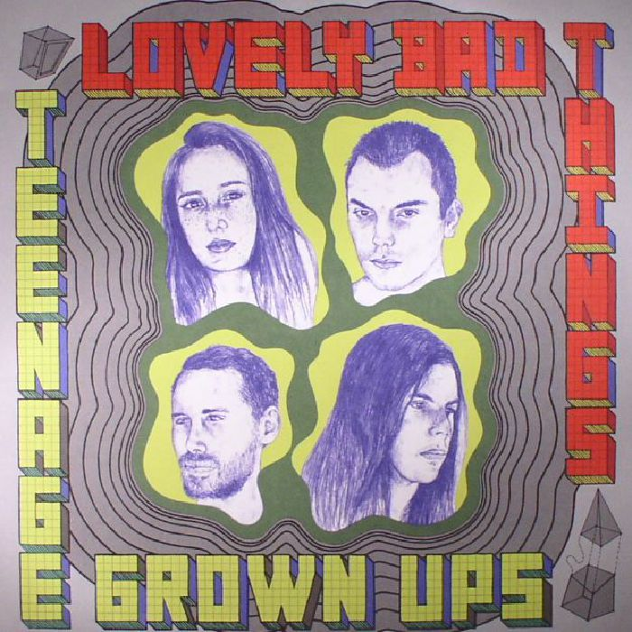 LOVELY BAD THINGS, The - Teenage Grown Ups