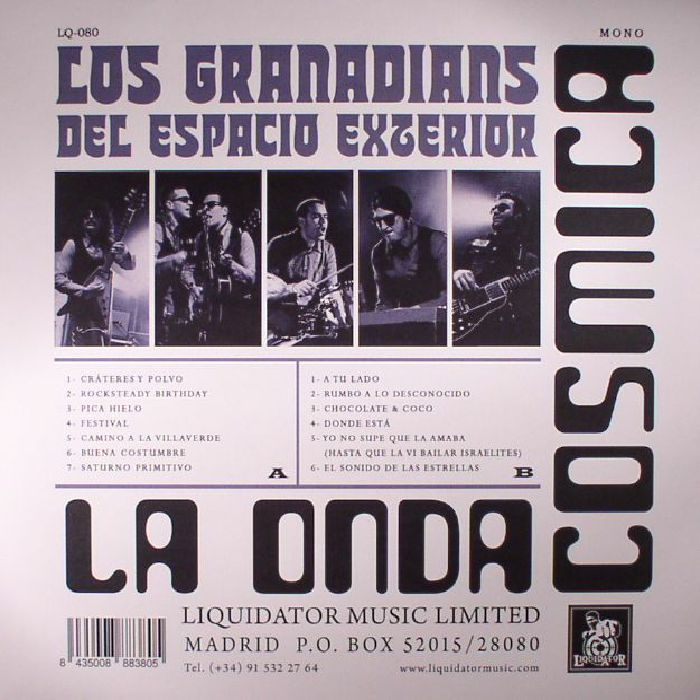 LOS GRANADIANS DEL ESPACIO EXTERIOR - La Onda Cosmica