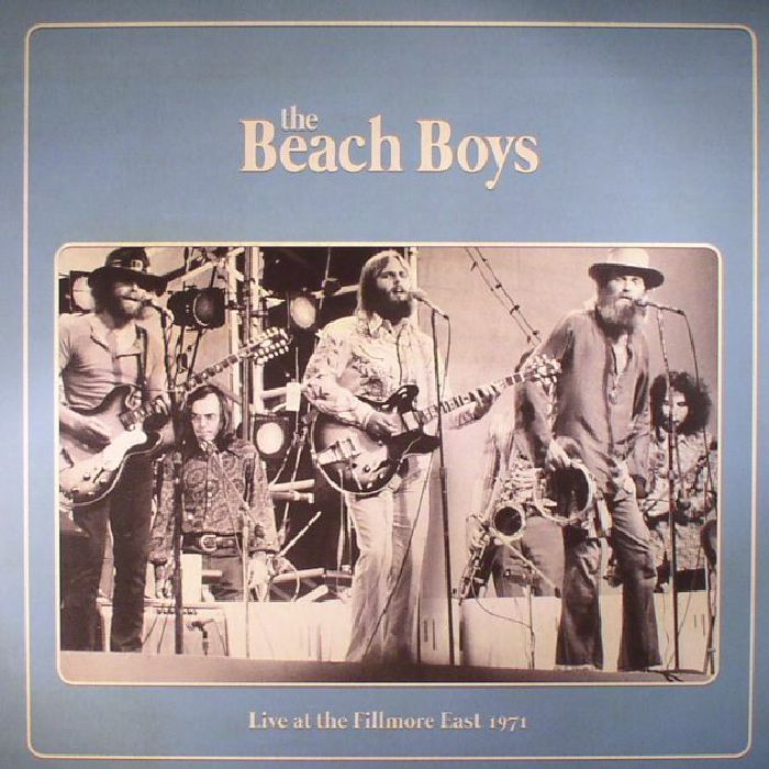 BEACH BOYS, The - Live At The Fillmore East 1971