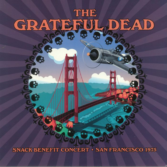 GRATEFUL DEAD, The - Snack Benefit Concert: San Francisco 1975
