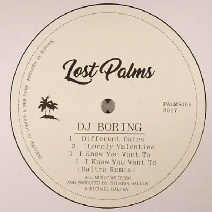 DJ BORING - Different Dates EP