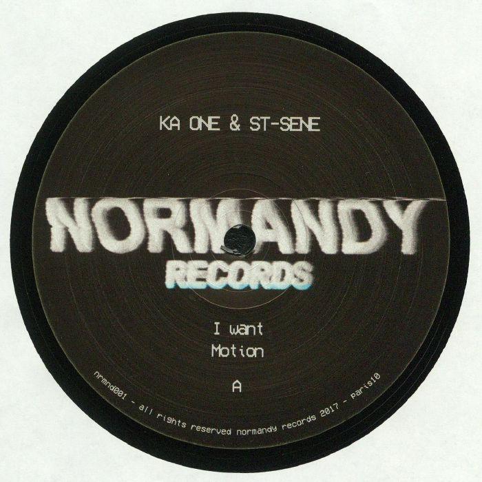KA ONE & ST SENE - NRMND 001