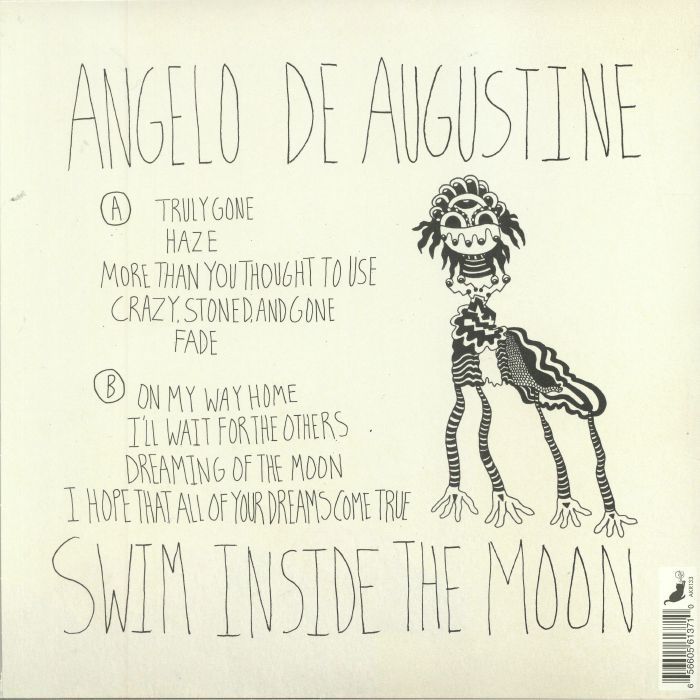 DE AUGUSTINE, Angelo - Swim Inside The Moon