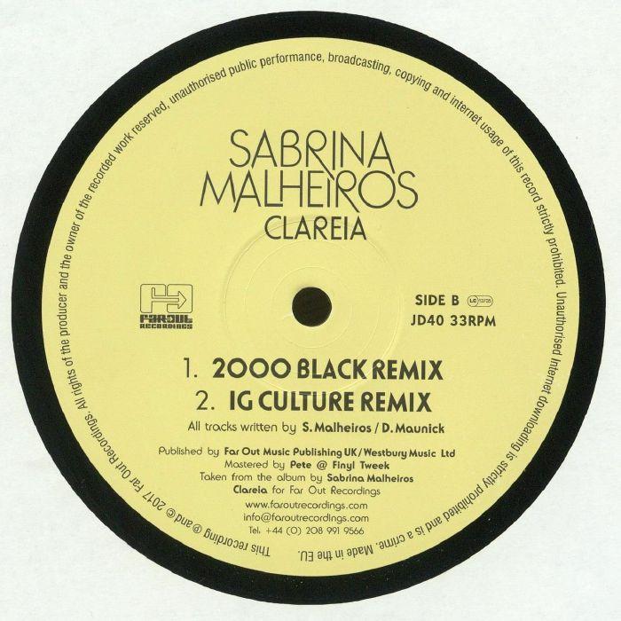 MALHEIROS, Sabrina - Clareia (remixes)
