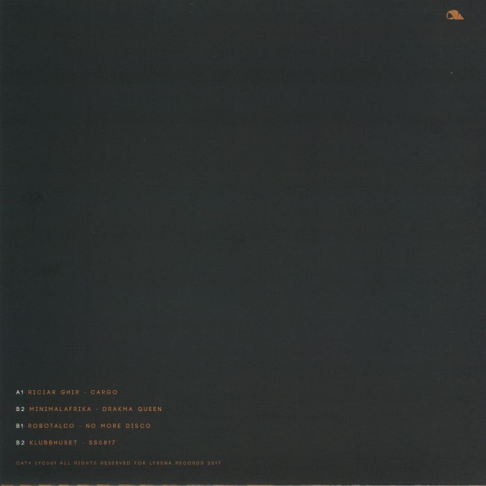 GHIR, Riciar/MINIMALAFRIKA/ROBOTALCO/KLUBBHUSET - Yellow EP