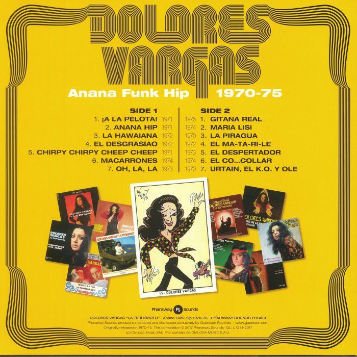 VARGAS, Dolores - La Terremoto: Anana Funk Hip 1970-1975 (reissue)