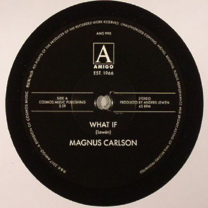 CARLSON, Magnus - What If