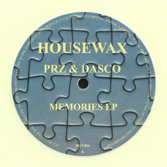 PRZ/DASCO - Memories EP