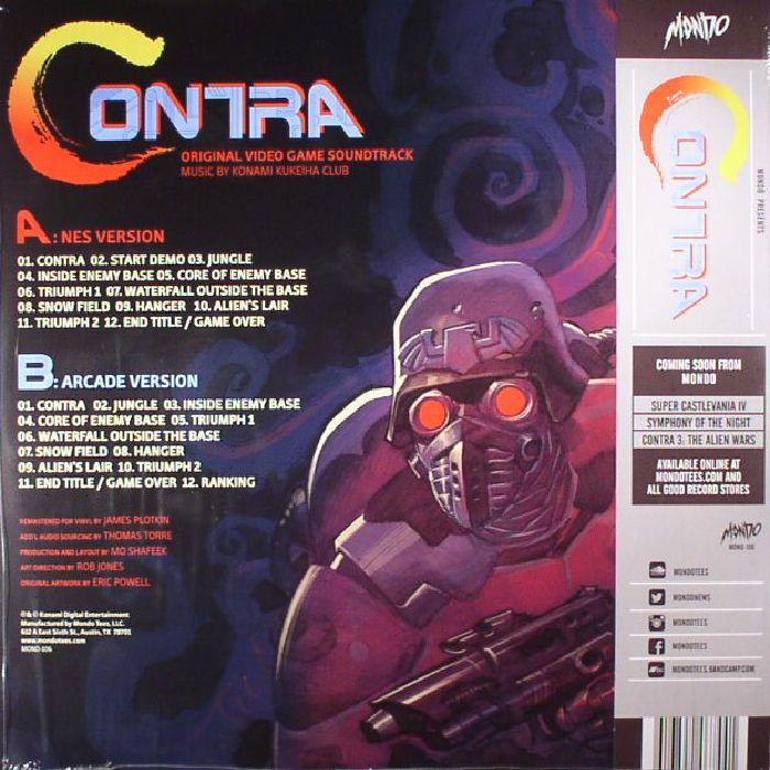 KONAMI KUKEIHA CLUB - Contra (Soundtrack)