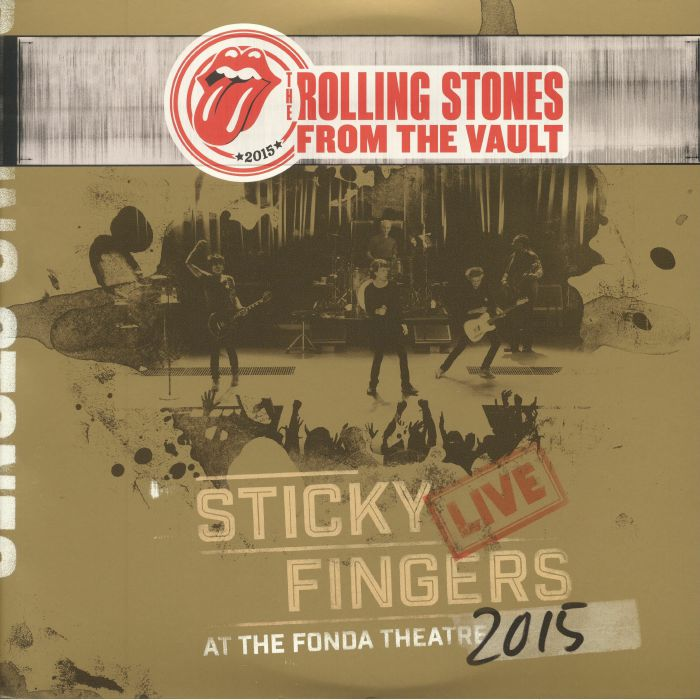ROLLING STONES, The - Sticky Fingers Live At The Fonda Theatre 2015