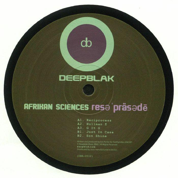 AFRIKAN SCIENCES - Reciprocity EP