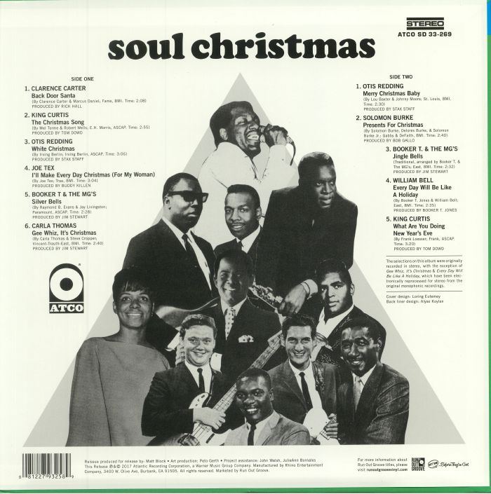 VARIOUS - Soul Christmas (reissue)