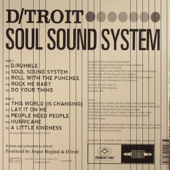 D/TROIT - Soul Sound System