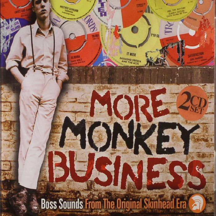 VARIOUS - More Monkey Business: Boss Sounds From The Original Skinhead Era
