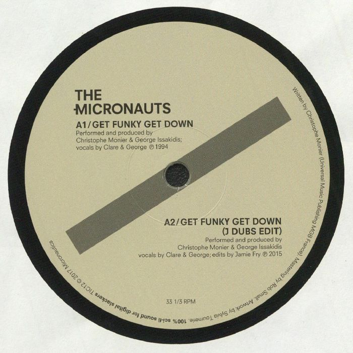 MICRONAUTS, The - Get Funky Get Down