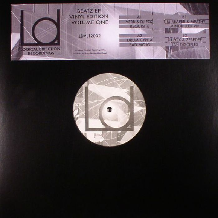 VERB/DJ FOX/DRUM CYPHA/TIM REAPER/MPATHY/ZEBEDEE - Beatz EP Volume One