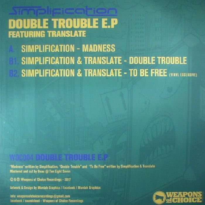 SIMPLIFICATION/TRANSLATE - Double Trouble EP