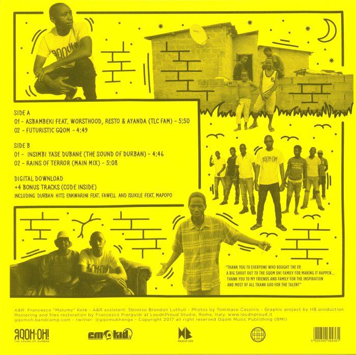 EMO KID - Gqomtera EP