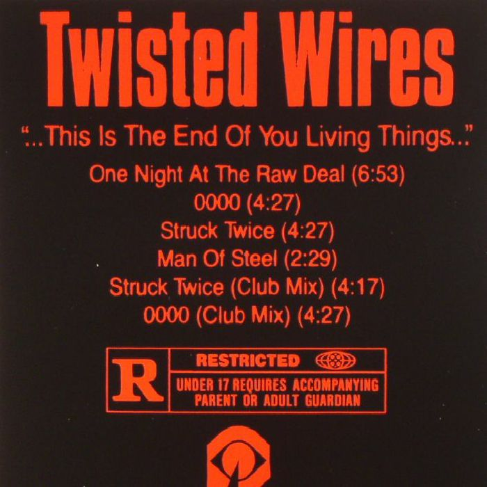 TWISTED WIRES - Half Lives