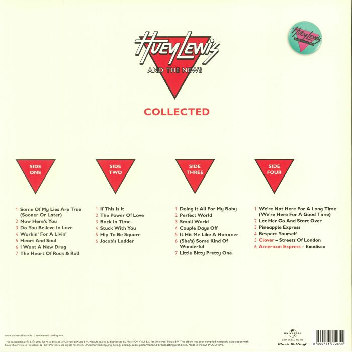 LEWIS, Huey & THE NEWS - Collected
