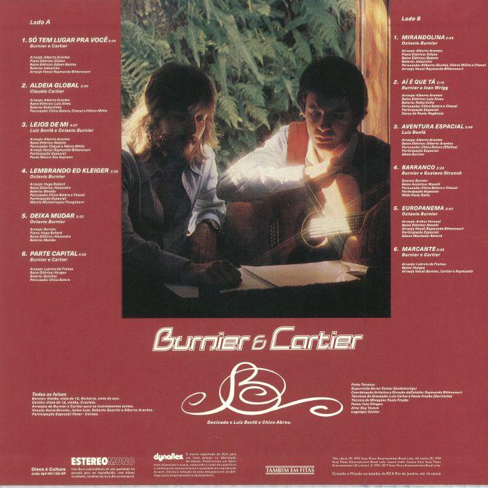 BURNIER & CARTIER - Burnier & Cartier (reissue)