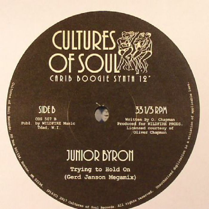 BYRON, Junior - Trying To Hold On