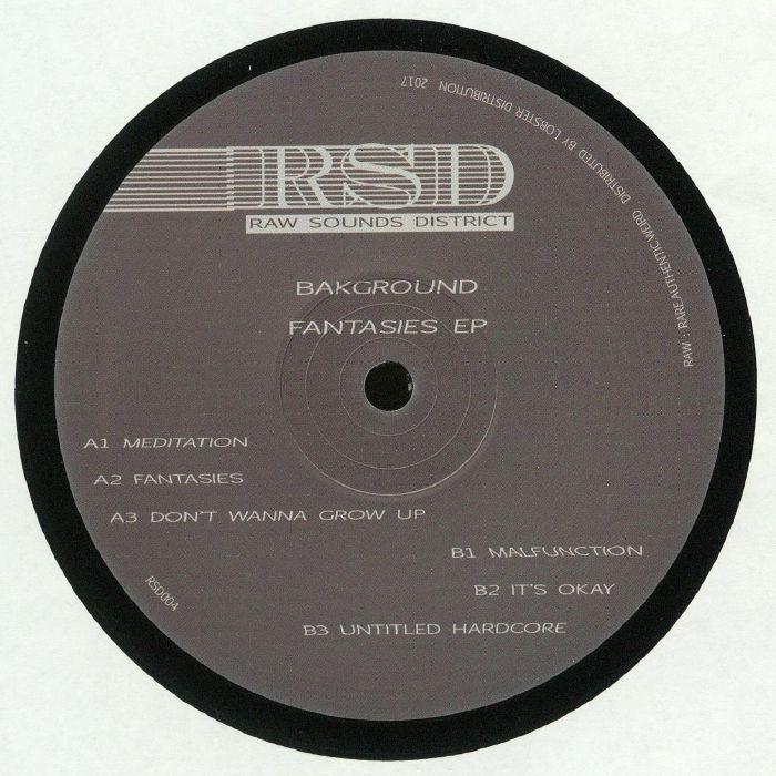 BAKGROUND - Fantasies EP