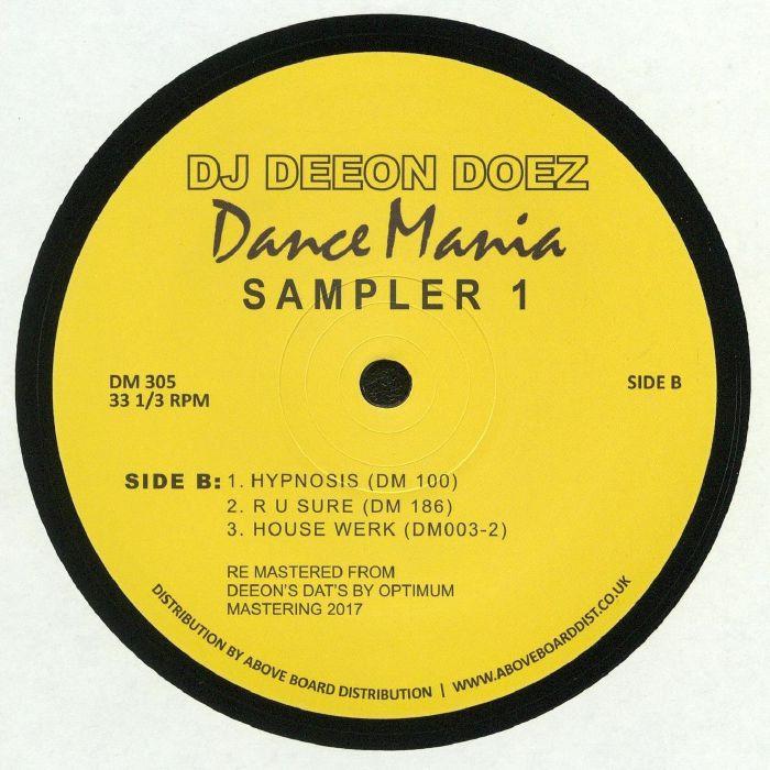 DJ DEEON - Doez Dance Mania Sampler 1 (reissue)