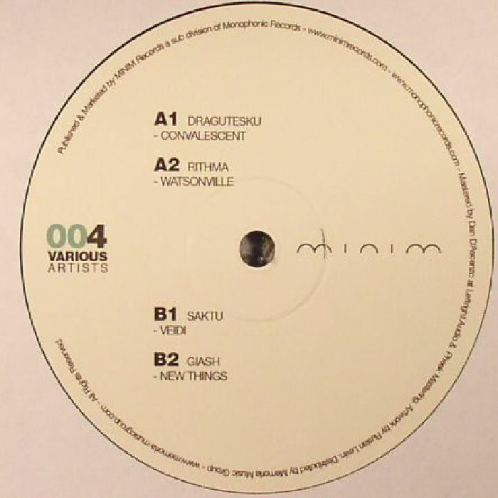 DRAGUTESKU/RITHMA/SAKTU/GIASH - Various Artists 004