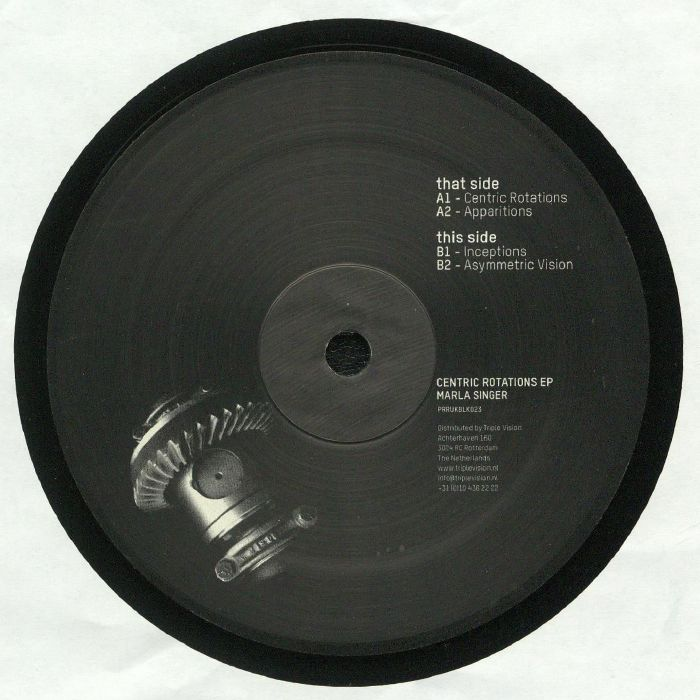 MARLA SINGER - Centric Rotations EP
