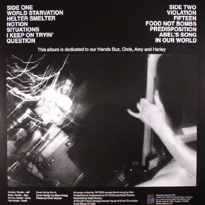 FIFTEEN - Buzz (reissue)