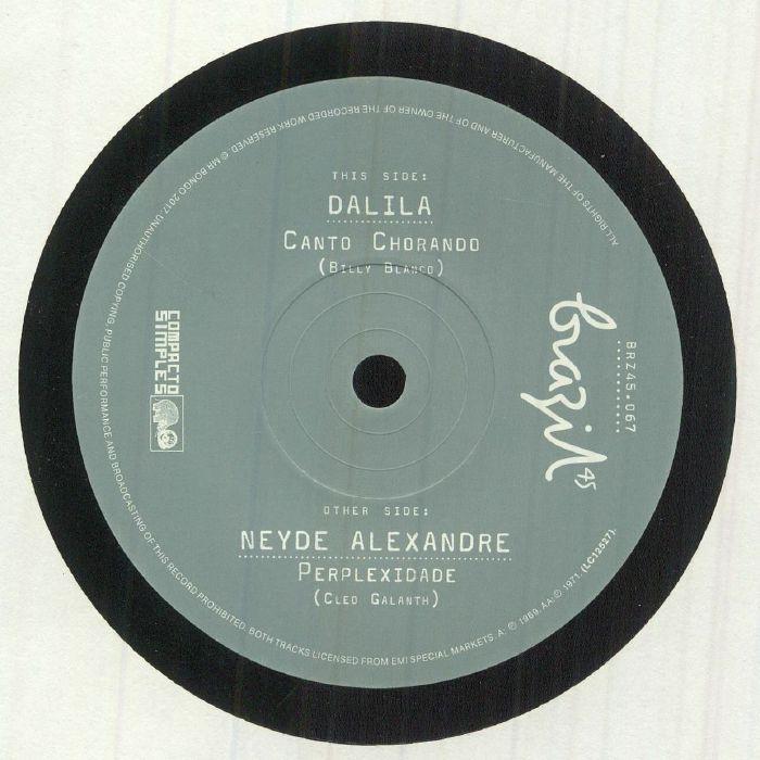 DALILA/NEYDE ALEXANDRE - Canto Chorando