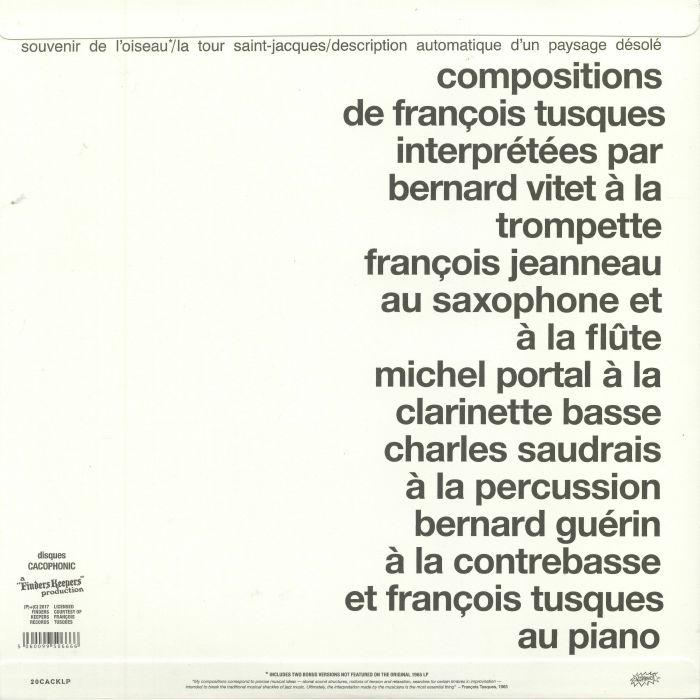 TUSQUES, Francois - Free Jazz