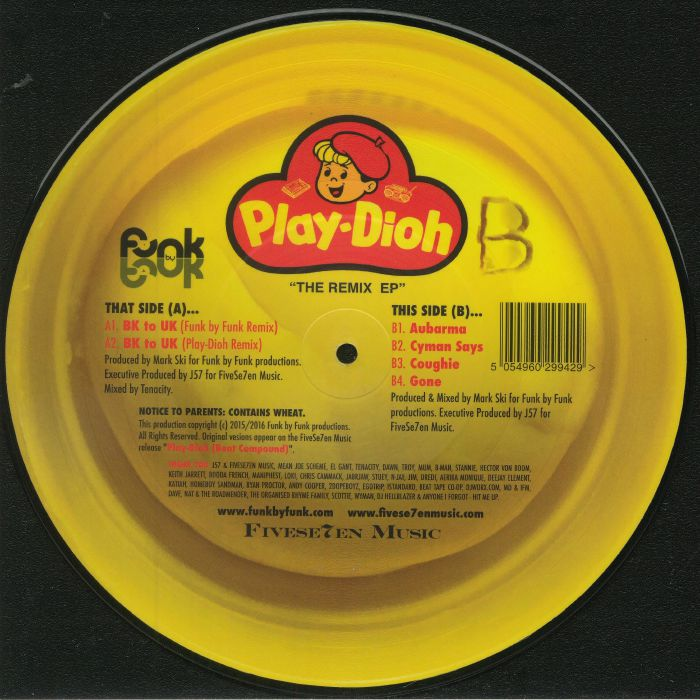 SKI, Mark - Play Dioh: The Remix EP