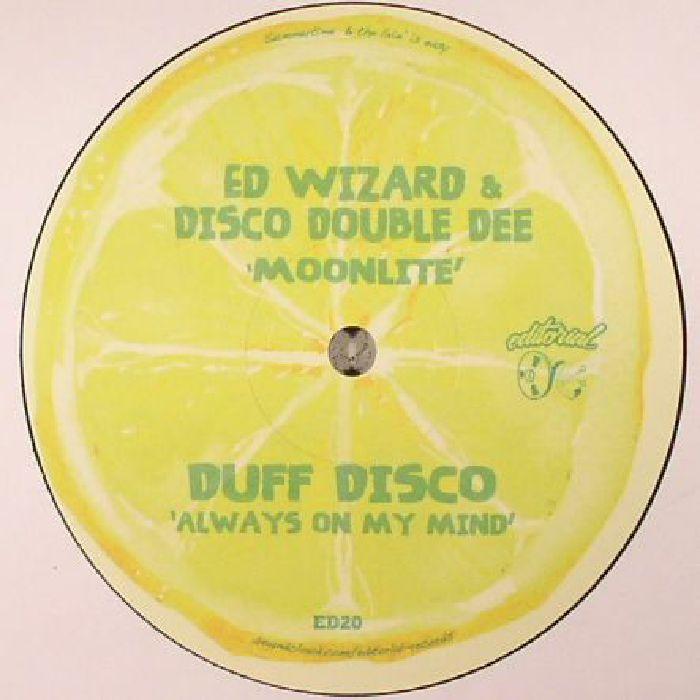 ED WIZARD & DISCO DOUBLE DEE/DUFF DISCO/BUZZ COMPASS/GET DOWN EDITS - Lemon Lime EP