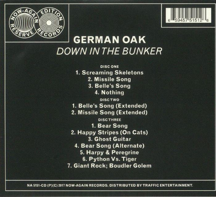 GERMAN OAK - Down In The Bunker